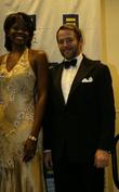 Matthew Broderick and Sheryl Swoopes