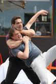 Lou Ferrigno and Jason Segel