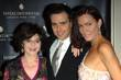 Miriam Stoppard, Ed Stoppard and Linzi Stoppard InterContinental...
