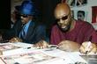 Isaac Hayes and Chuck Brown