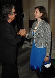 Roberto Cavalli and Jasmine Guinness