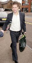 Andrew Castle  Arrives at itv studios, south...
