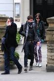 Jamie Hince and Alison Mosshart Leaving Kro Bar