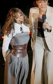 Janet Jackson and Robin Roberts