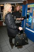 Jennifer Ellison and Tracey Ann-Oberman struggle to pay for a parking ticket in an underground car park