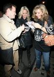 Jennifer Ellison and Tracey Ann-Oberman sign autographs for fans