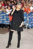 Jennifer Lopez and David Letterman