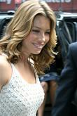 Jessica Biel arrives at ABC Studios for an...