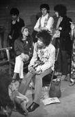 Jimi Hendrix With John Entwistle. 1967...