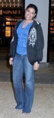 American Idol winner Jordin Sparks outside MTV TRL...