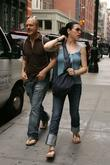 Julianna Margulies Out and About With A Friend In Soho A Few Days After She Confirmed She Is Pregnant With Her First Child