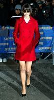 Katie Holmes, David Letterman, Ed Sullivan Theatre