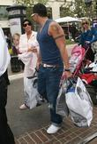 Peter Andre and Katie Price with their daughter Princess Tiaamii at the Grove in West Hollywood