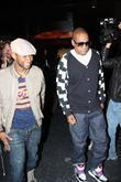 Usher and Jay-z Leaving Katsuya Restaurant In Hollywood Together