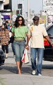 Kimora Lee and Djimon Hounsou