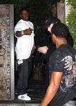 Reggie Bush at Koi restaurant Los Angeles, California