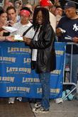 Whoopi Goldberg, Cbs and David Letterman