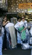 Lauren Conrad and Friend Picking Up Her Dry Cleaning