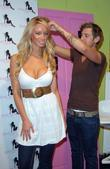 Lauren Pope helps celebrity crimper Alex Fodden launch...