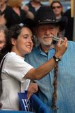 Willie Nelson and David Letterman