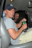 Kenny Chesney and David Letterman
