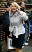 Helen Mirren, David Letterman