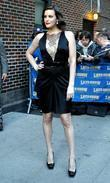 Liv Tyler, David Letterman, Ed Sullivan Theatre