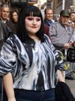 Beth Ditto and David Letterman