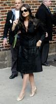 Demi Moore, David Letterman and Ed Sullivan Theatre