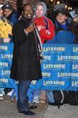 Randy Jackson and David Letterman