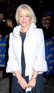Helen Mirren and David Letterman