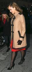 Jessica Alba and David Letterman
