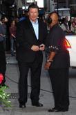 Alec Baldwin and David Letterman