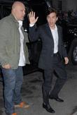 Emile Hirsch and David Letterman