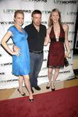 Elaine Hendrix, Jason Stuart and Andrea James