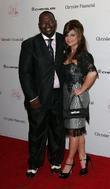 Randy Jackson and Paula Abdul