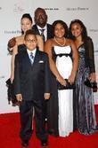 Randy Jackson and family