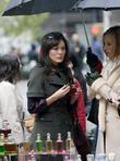 Lindsay Price and Kim Raver Filming Scenes For Their New Tv Series 'lipstick Jungle'