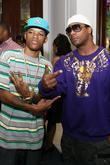 Rapper Rich Boy and Ludacris