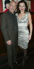 Patrick Stewart and Kate Fleetwood