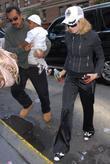 Madonna and Her Adopted Son David Banda