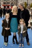 Jo Whiley and family