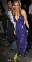 Holly Branson leaving Mahiki Club
