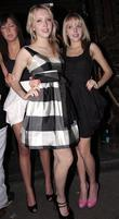 Samantha Marchant and Amanda Marchant Leaving Mahiki Nightclub.