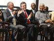 Ken Livingstone, Gordon Brown and Nelson Mandela Unveiling...