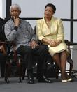 Nelson Mandela and Graca Machel Unveiling of Nelson...