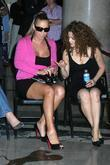 Mariah Carey and Bernadette Peters