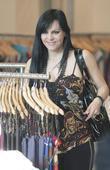 Maribel Guardia Shops On Robertson Blvd. At Sky Boutique