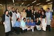 Mario Lopez and Food Bank Staff