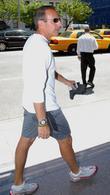 Matt Lauer Walking In Midtown Manhatten